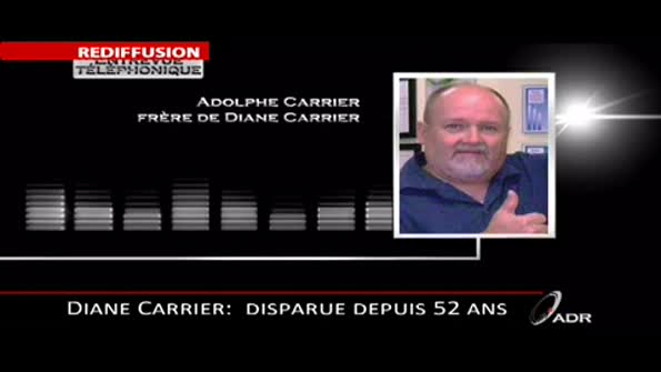 Disparition de Diane Carrier