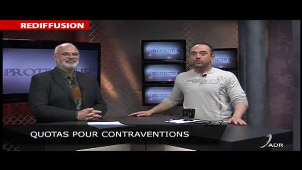 Quotas de contraventions