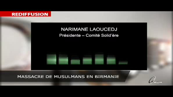 Massacre de musulmans en Birmanie