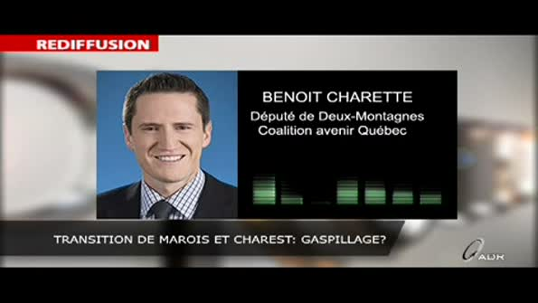 Transition de Marois et Charest: gaspillage?