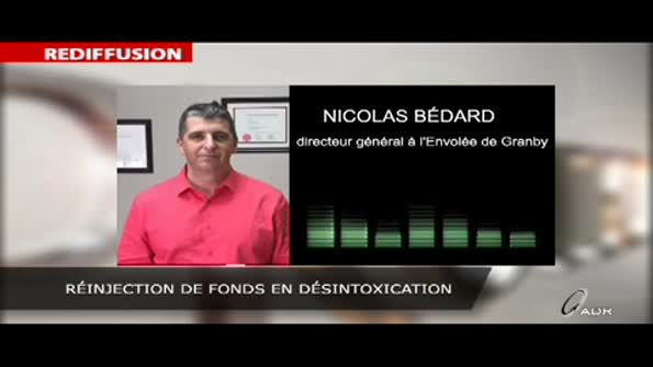 Réinjection de fonds en désintoxication